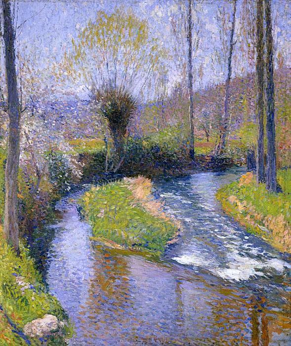 River Vert. Henri-Jean-Guillaume Martin