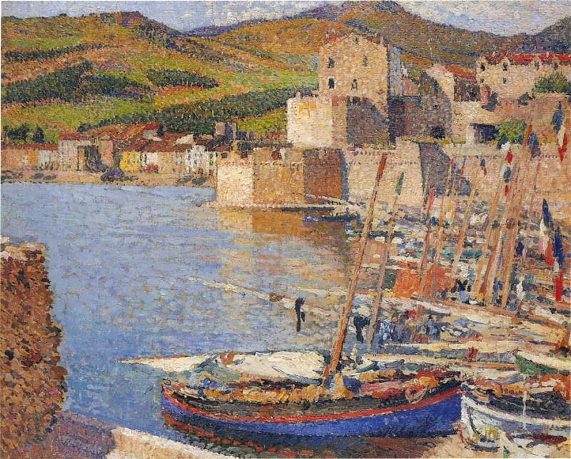 Le Port de Collioure 01. Henri-Jean-Guillaume Martin