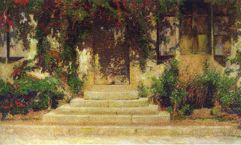 Doorway into the House. Henri-Jean-Guillaume Martin
