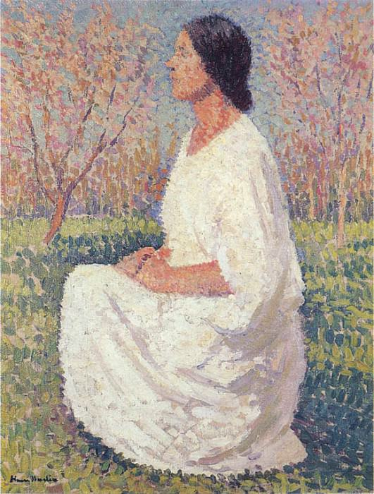 The Muse 01. Henri-Jean-Guillaume Martin