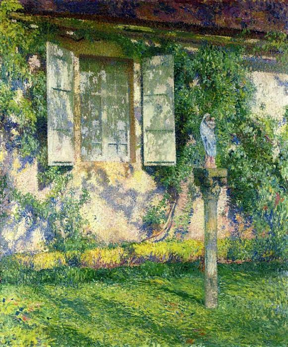 The Facade of Marquayrol 1915. Henri-Jean-Guillaume Martin