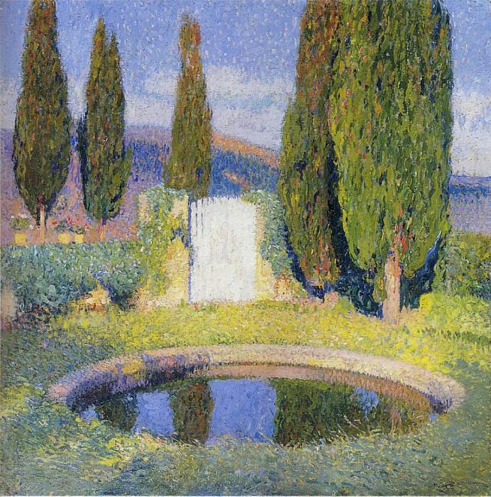 Le Bassin 1920. Henri-Jean-Guillaume Martin