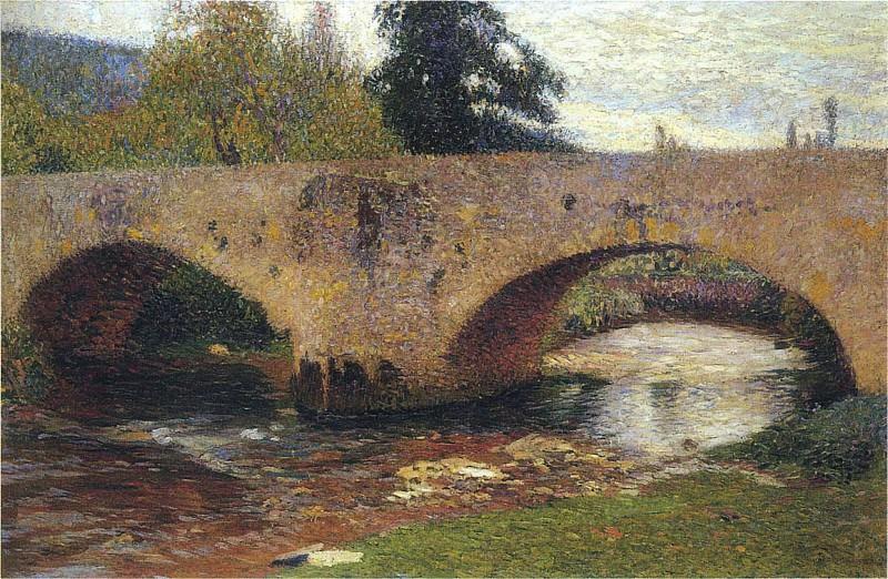 Le Pont du Labastide du Vert. Henri-Jean-Guillaume Martin