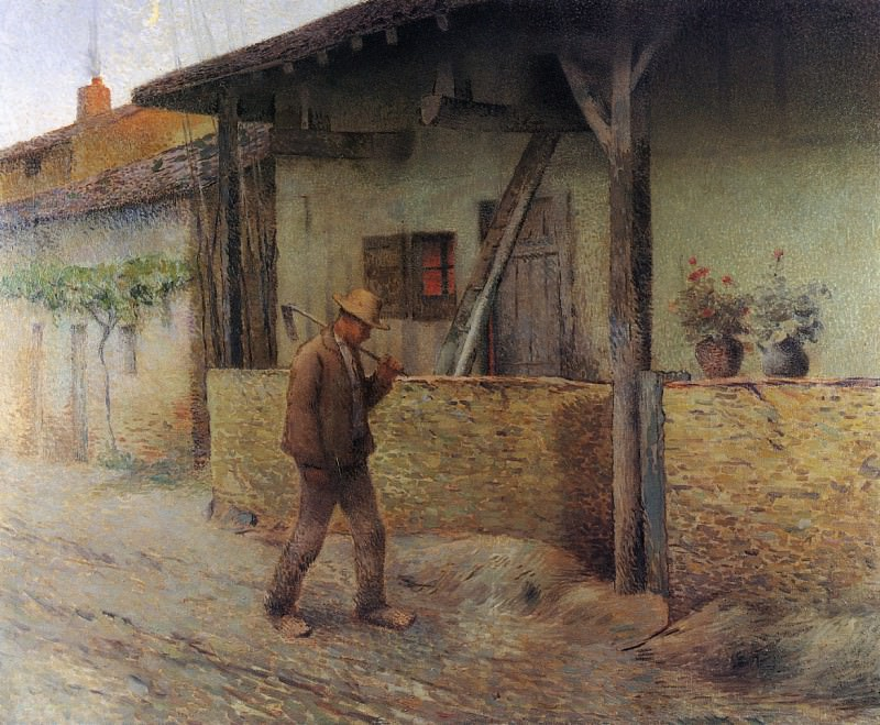 Return from the Fields 1890 96. Henri-Jean-Guillaume Martin