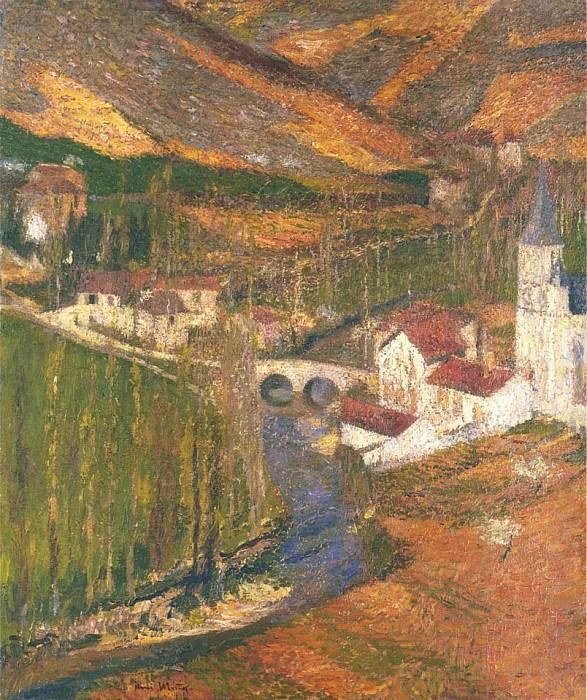 Labastide du vert du Pont Debout. Henri-Jean-Guillaume Martin