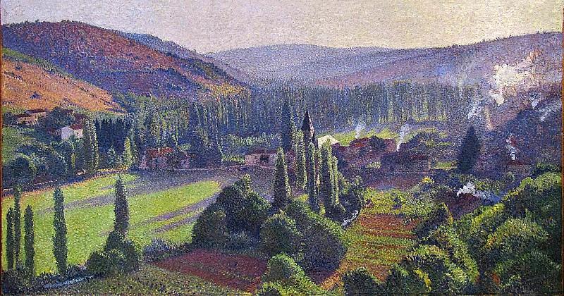 Labastide du Vert en Marquayrol 1890. Henri-Jean-Guillaume Martin