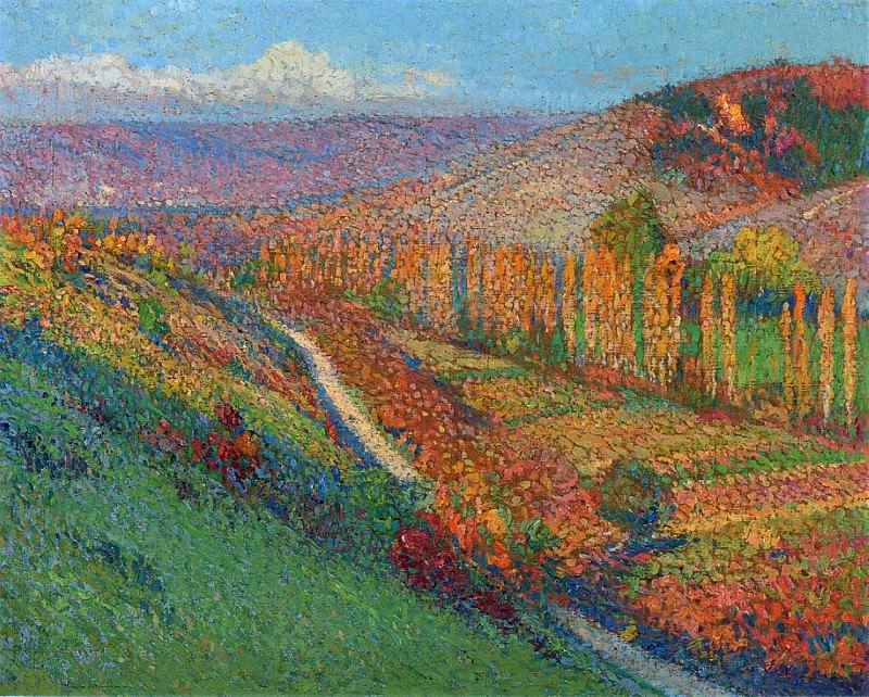 Vallee du Vert en Aval. Henri-Jean-Guillaume Martin