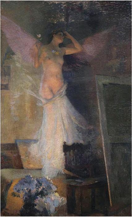 La Muse du Paintre. Henri-Jean-Guillaume Martin