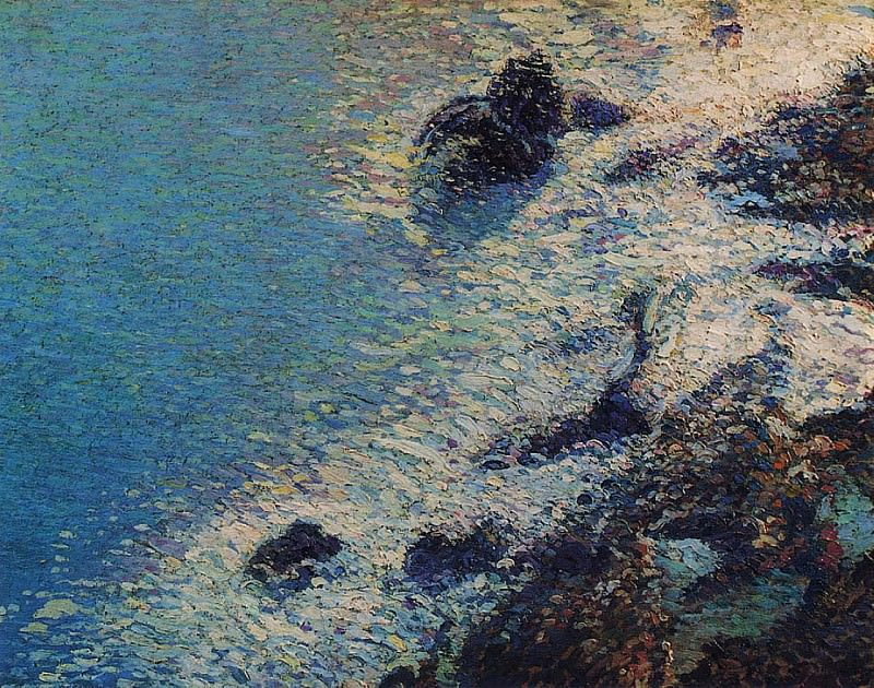 Море и скалы. Анри-Жан-Гийом Мартин