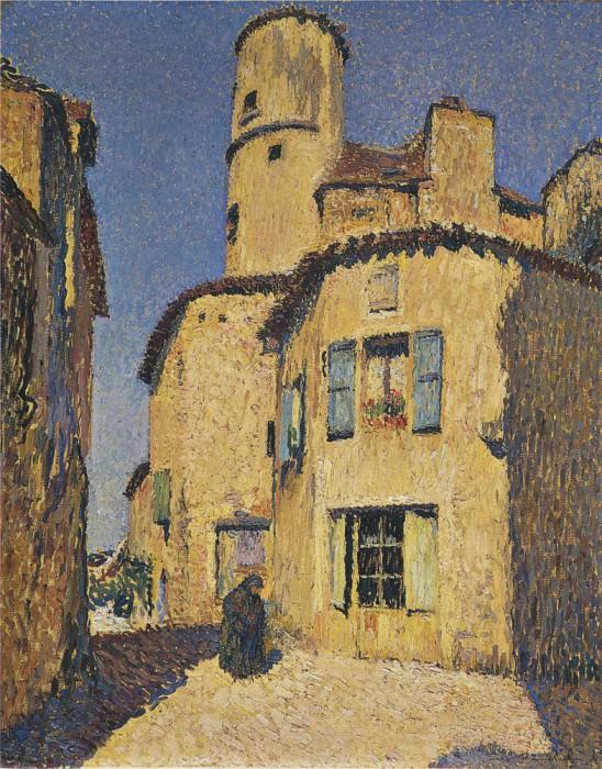 Maisons a Gigouzac. Henri-Jean-Guillaume Martin