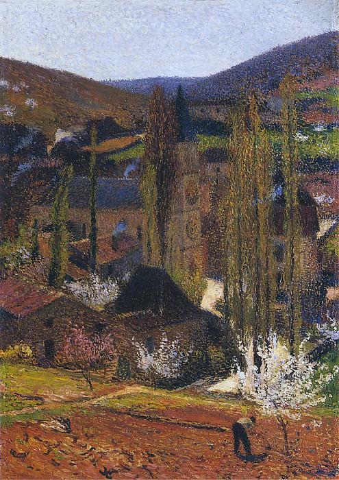 Labastide du Vert near Presbytere. Henri-Jean-Guillaume Martin