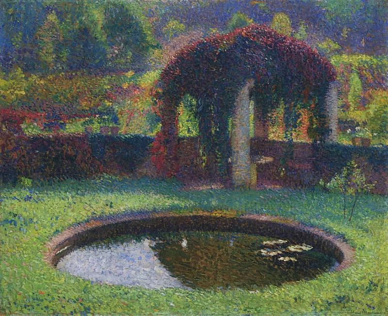 Pergola in the South West Park 1920. Henri-Jean-Guillaume Martin