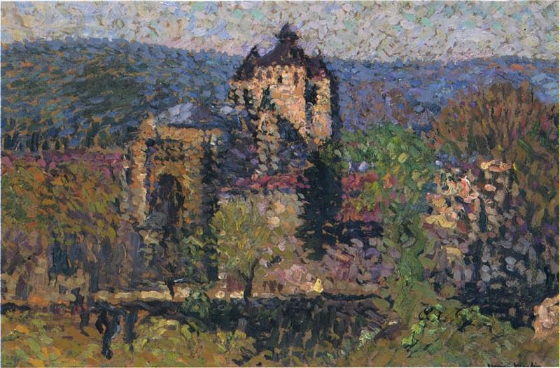 Cathedral of Cahors. Henri-Jean-Guillaume Martin