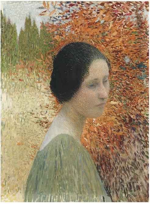 Portrait of a Woman. Henri-Jean-Guillaume Martin