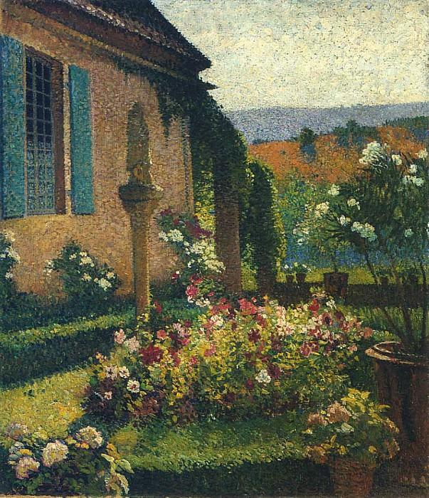 Garden of the Artist. Henri-Jean-Guillaume Martin