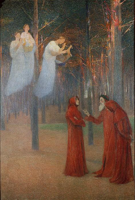 Les Poetes au Bois Sacre. Henri-Jean-Guillaume Martin