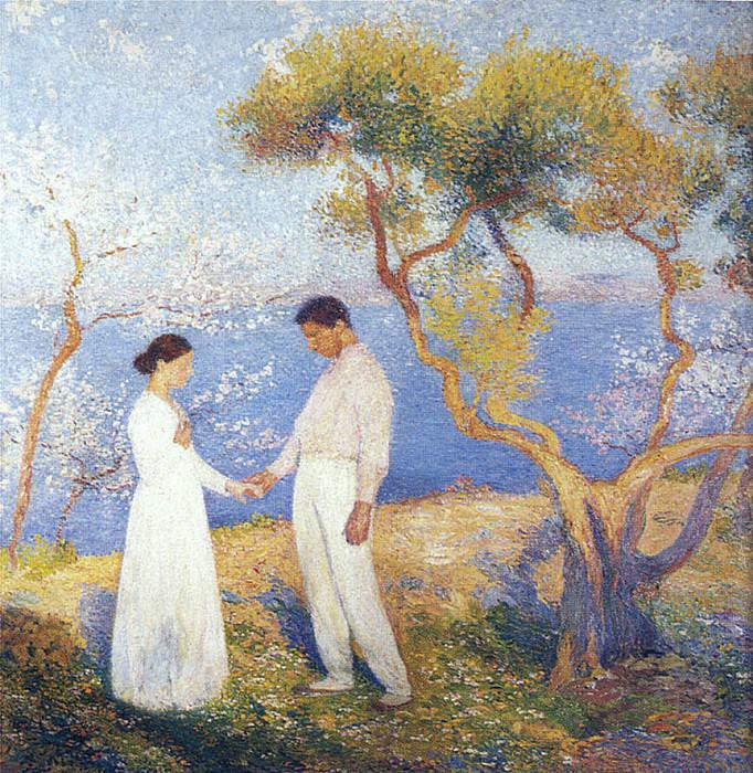 Paysage au Couple. Henri-Jean-Guillaume Martin