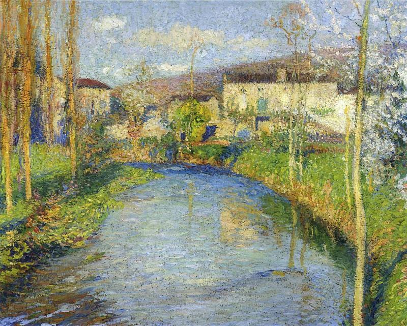 Le Vert du Lot. Henri-Jean-Guillaume Martin