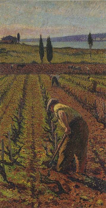 Le Cultivatier. Henri-Jean-Guillaume Martin