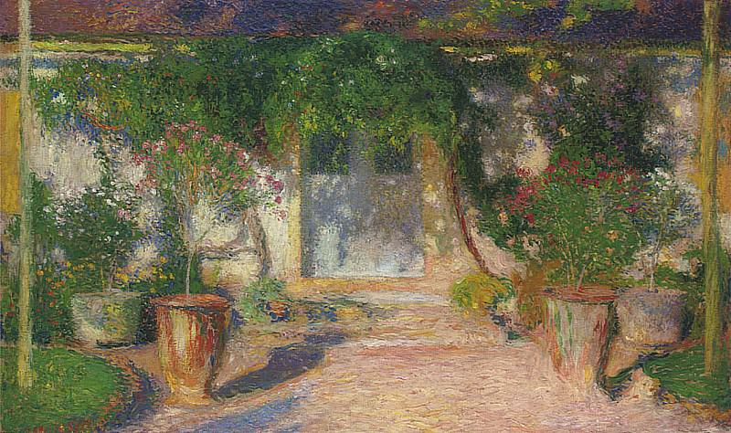 Terrasse en Soleil. Henri-Jean-Guillaume Martin