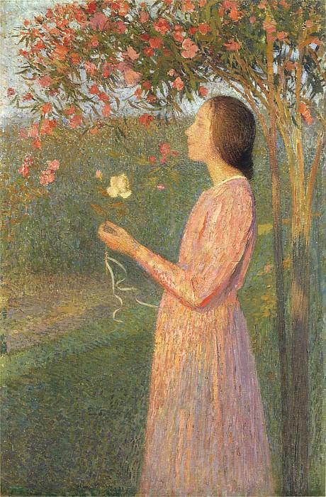 The Rose Robe. Henri-Jean-Guillaume Martin