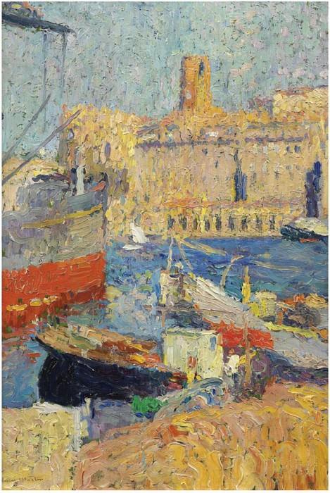 Marseilles. Henri-Jean-Guillaume Martin