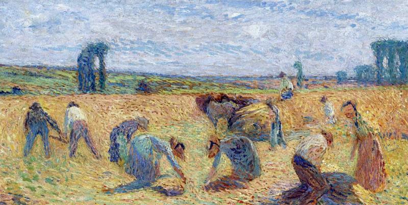 Harvesters. Henri-Jean-Guillaume Martin