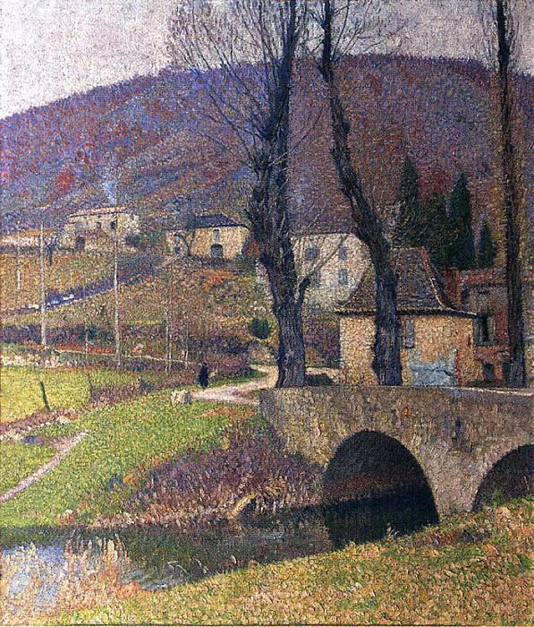Labastide du Vert Village. Henri-Jean-Guillaume Martin