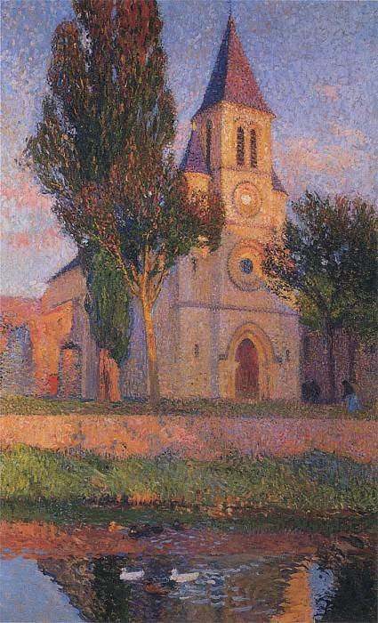 Church in Labastide. Henri-Jean-Guillaume Martin