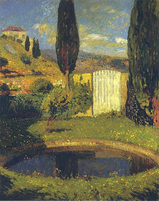 Garden at Labastide du Vert. Henri-Jean-Guillaume Martin