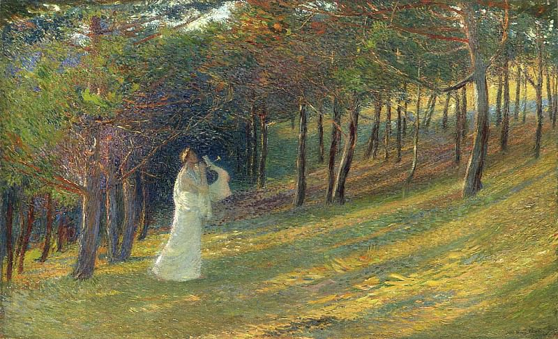 Orpheus in a Wood 1895. Henri-Jean-Guillaume Martin