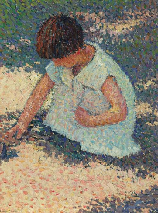 Young Girl. Henri-Jean-Guillaume Martin