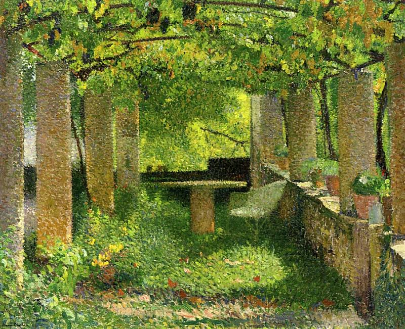 The Arbour 1900. Henri-Jean-Guillaume Martin