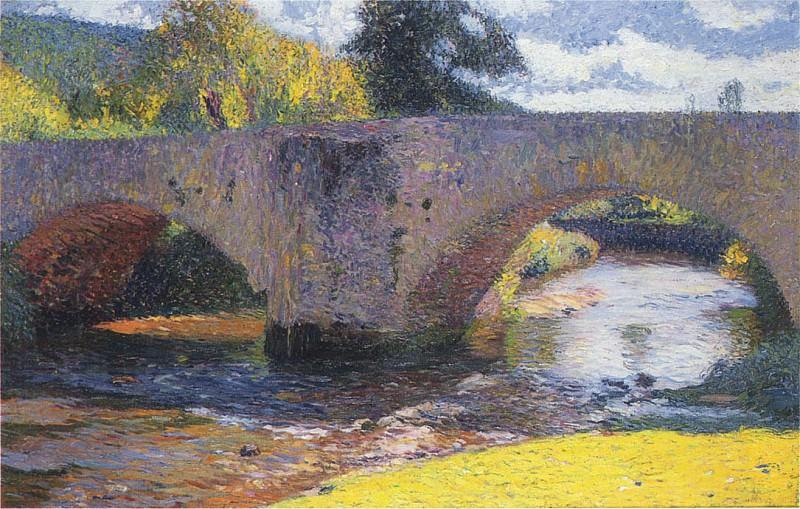 Le Pont en Labastide. Henri-Jean-Guillaume Martin