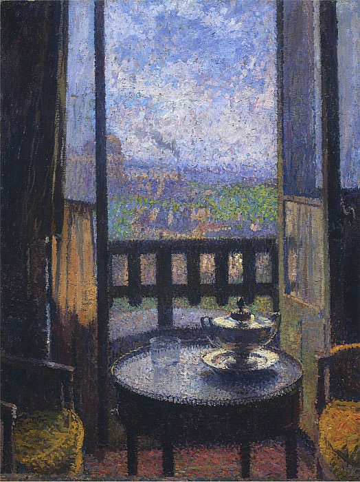 View from the Artists Studio. Henri-Jean-Guillaume Martin