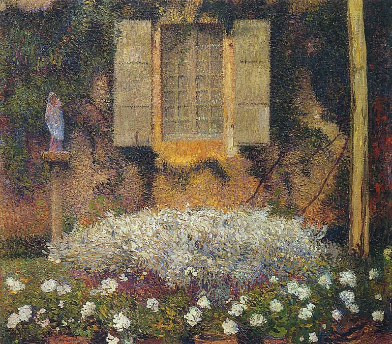 Окно в сад. Анри-Жан-Гийом Мартин