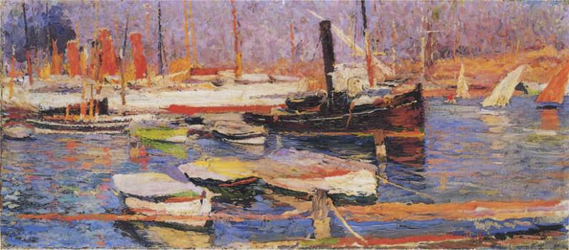 Le Port de Marseille. Henri-Jean-Guillaume Martin