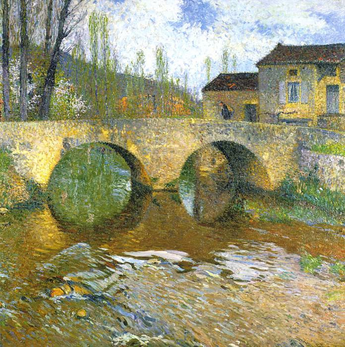 Le Pont sur le Vert. Henri-Jean-Guillaume Martin