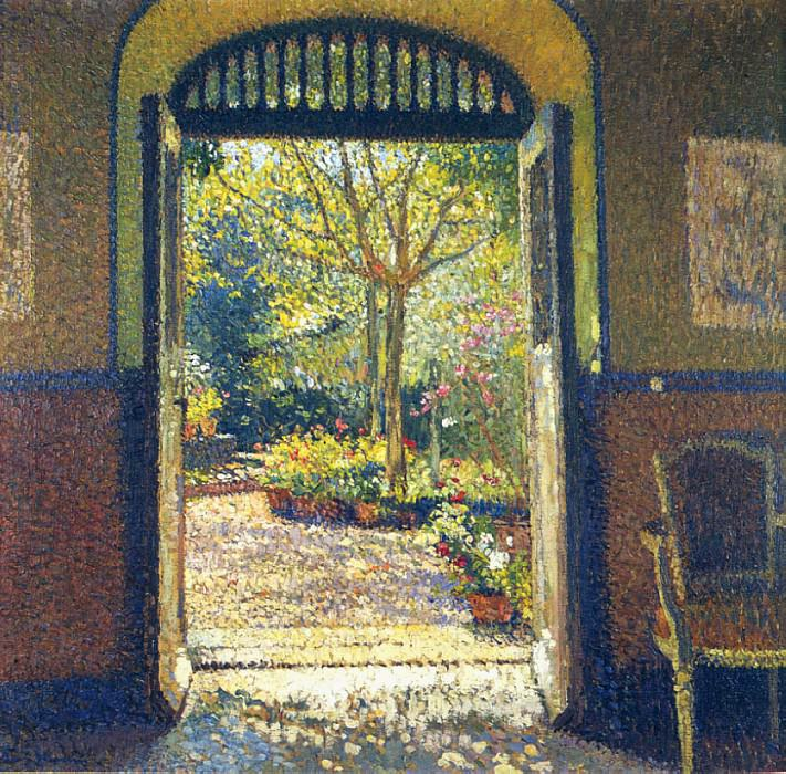 Jardin au Soleil. Henri-Jean-Guillaume Martin