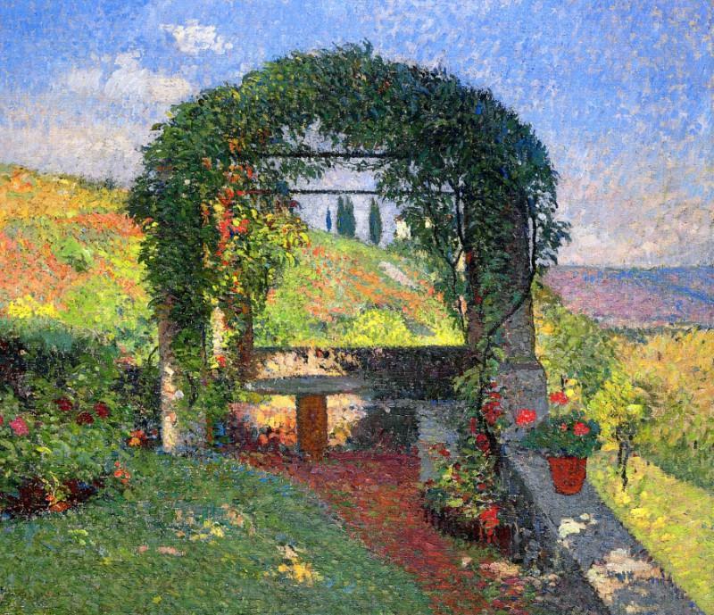 La Pergola Gloriette 1920. Henri-Jean-Guillaume Martin