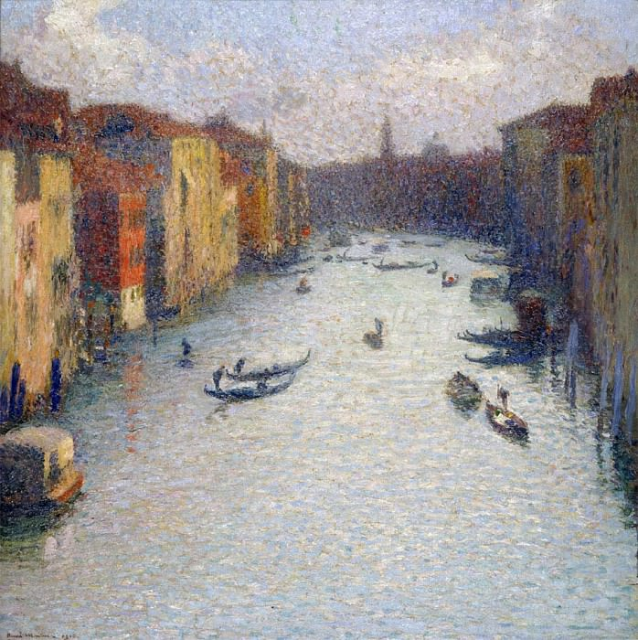 Grand Canal Venice. Henri-Jean-Guillaume Martin