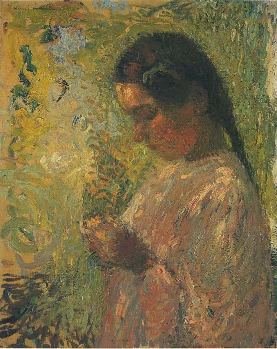 Юная крестьянка (этюд). Анри-Жан-Гийом Мартин