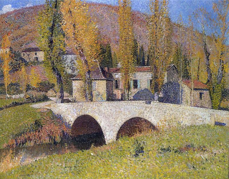 Pont de Labastide du Vert. Henri-Jean-Guillaume Martin