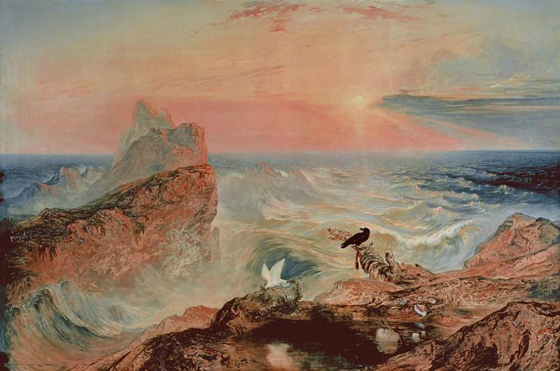 Assuaging of the Waters. John Martin