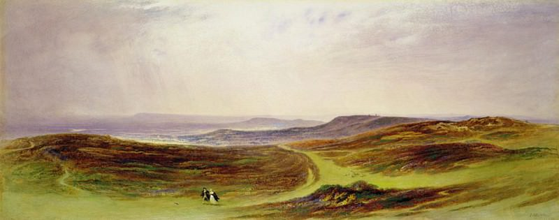 The Valley of the Tyne, My Native Country, from near Henshaw. John Martin