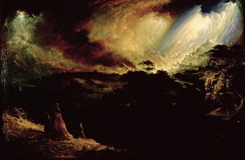 The Destruction of Sodom and Gomorrah. John Martin
