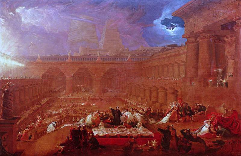 Belshazzars Feast. John Martin