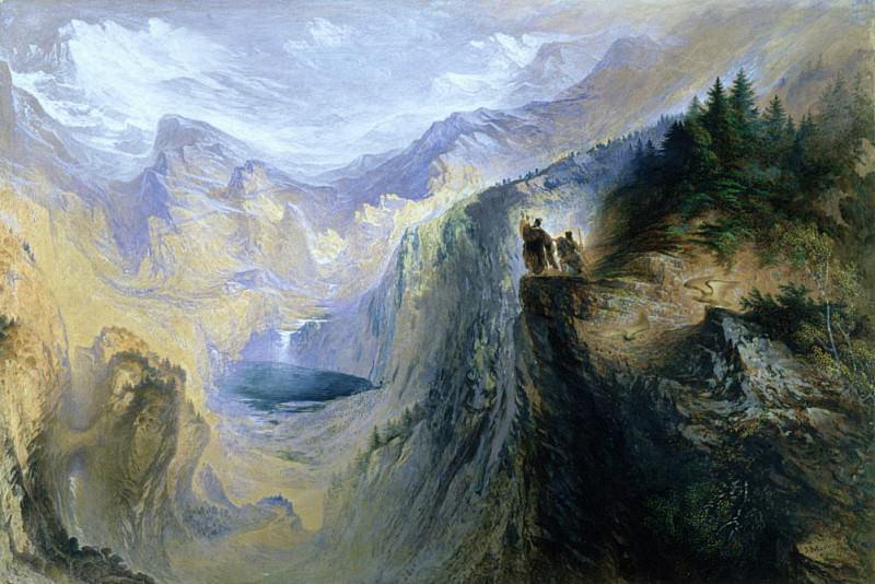 Manfred on the Jungfrau. John Martin