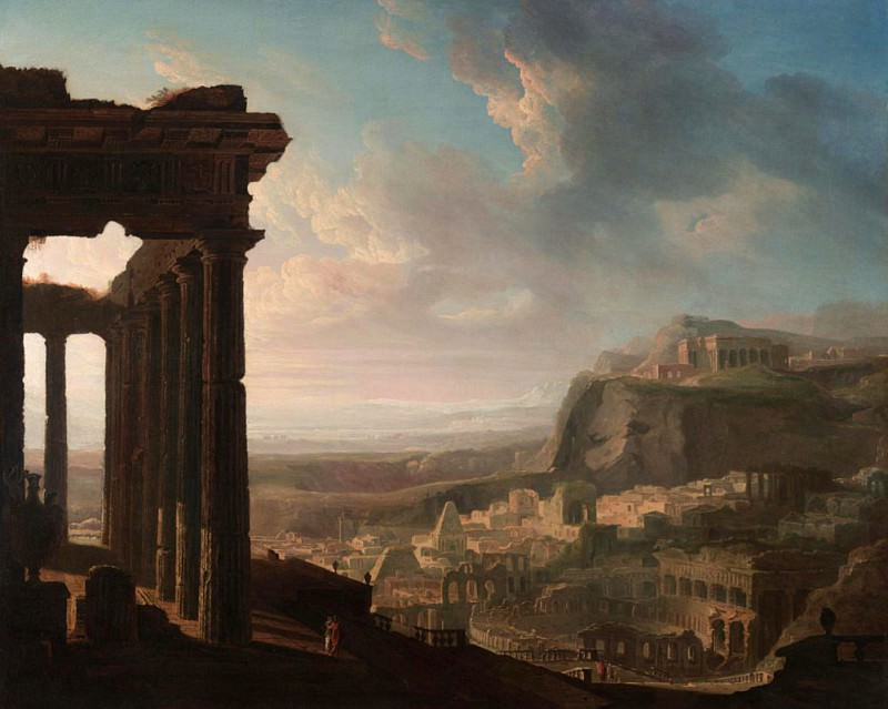 Ruins of an Ancient City. John Martin