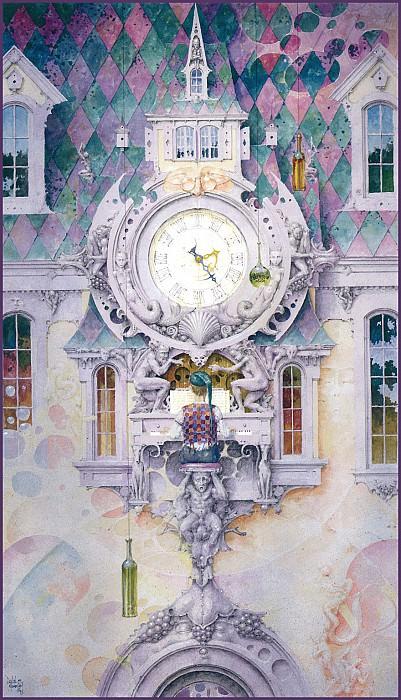 Emotional Clock. Daniel Merriam